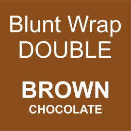 Blunt Wrap Double Platinum BROWN (Chocolate) (25)