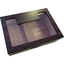 Humidor glas 33x23x9,5 cm