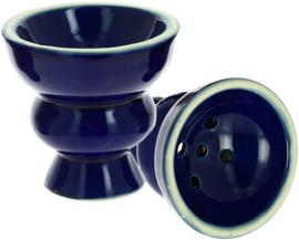 Waterpijp kop medium blauw