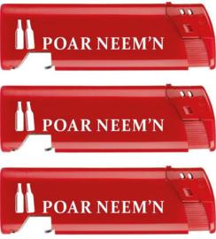 Aansteker piezo met bieropener Poar Neem'n (50)