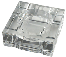 Sigaren asbak Kristalglas 20x20x7cm