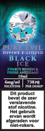 Pure Evil 10ml 6mg/ml Black ice