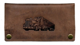 "Luxe Leder Shagetui Hunter brown ""Truck"""
