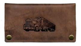 """Luxe Leder Shagetui Hunter brown """"Truck"""""""