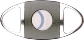 sigarenknipper gekarteld mes Ø 23mm chroom/ grijs