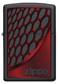 Zippo 60003392 RED AND CHROME