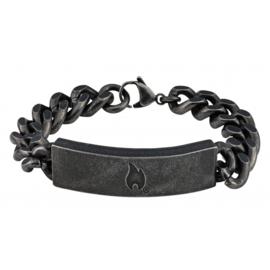 Zippo Antique Link Bracelet - 22 x 1.2 x 0.5 cm