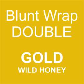 Blunt Wrap Double Platinum GOLD (Wild Honey) (25)