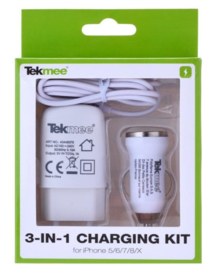 Tekmee Travel kit Iphone wit (12)