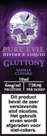 Pure Evil 10ml 6mg/ml Gluttony