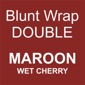 Blunt Wrap Double Platinum MAROON (Wet Cherry) (25)
