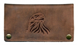 "Luxe Leder Shagetui Hunter brown ""Eagle"""