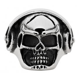 Zippo Headphone Skull Ring - 62