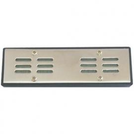 Humidifier chrome 12x4x1,3cm