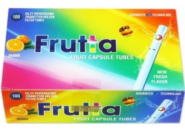 Frutta hulzen 100st Orange
