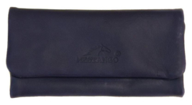 Mestango roll-up leder Lounge blauw