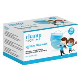 Champ Health+ Mondmasker voor kinderen Type I (50)