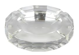 Sigaren asbak Kristalglas 25x25x4,3cm