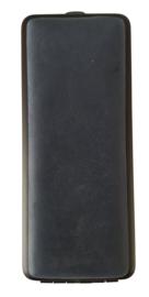 Sigarenkoker Leder geschuurd blauw 100mm w.cigarillo's