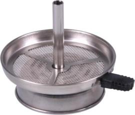 Opzet waterpijp voor cocoskolen Ø boven 95mm onder 65mm
