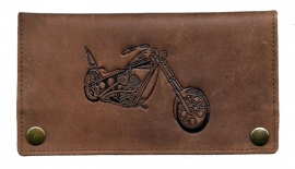 "Luxe Leder Shagetui Hunter brown ""Motor"""