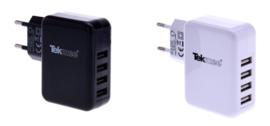 Tekmee USB adapter 220V 4 poorten 4.8A (12)