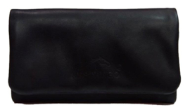 Mestango roll-up leder Pocket zwart