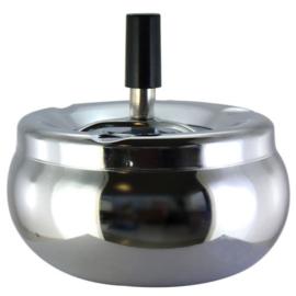 Draaiasbak Ø 13cm chroom