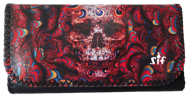 Shagetui roll-up kunstleder Skull