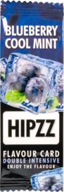 Hipzz Flavor card Blueberry Cool Mint/20