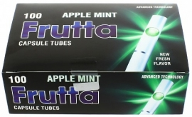 Frutta hulzen 100st Apple mint