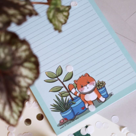 Jamie the Cat Kamerplant (blok A5)