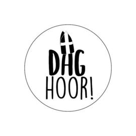 Cadeausticker Dag Hoor !
