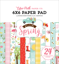 Welcome Spring Paper Pad