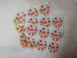 Jamie the Cat Lente stickers