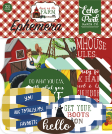 Down On The Farm Die Cuts