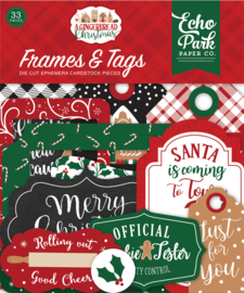 Gingerbread Christmas Frames & Tags