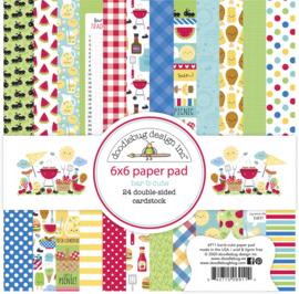 Doodlebug Bar-b-Cute Paper Pad