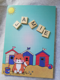 Jamie the Cat Zomer (blok A5)