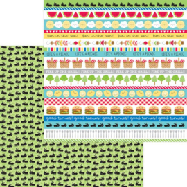 Doodlebug Bar-b-Cute Paper Pad