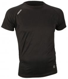 Hardloopshirt  Heren korte mouw - zwart