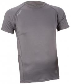 Hardloopshirt  Heren korte mouwen - Grijs