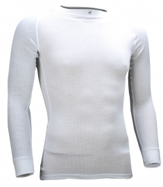 Thermoshirt lange mouw wit - Heren