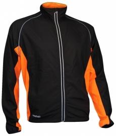 Hardloopjack Heren - zwart / oranje