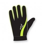 Handschoen - Zwart / Geel