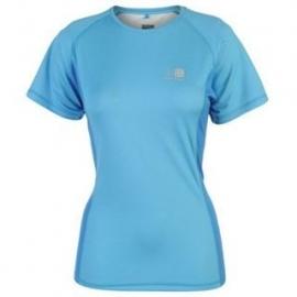 Hardloopshirt Dames korte mouwen - lichtblauw