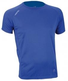 Hardloopshirt  Heren korte mouw - Blauw