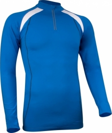 Hardloopshirt Lange mouw - Heren - Lichtblauw