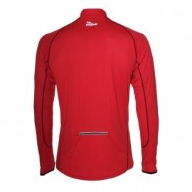 Hardloopshirt Heren Lange mouw - effen Rood