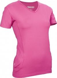 Hardloopshirt Dames korte mouw - Roze